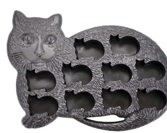 Kitten Kitty Cat Mold for Ice, Candy, Chocolate, Soap, Crayons Supplies