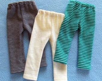 Three Pair of Leggings for 14.5 inch little girl dolls
