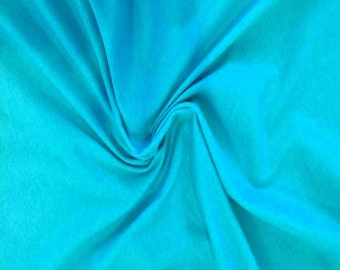 Teal solid CL knit 1 yard