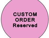 "Custom Order - 10 1"" or 25 mm Round SHANK Style Pug Sewing Buttons"