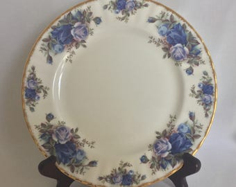 1987 Royal Albert Moonlight Rose Fine Bone China Salad Dessert Plate MADE IN ENGLAND Many Pieces Available