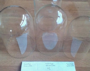 Glass Domes Display Job lot UK ONLY Free Postage