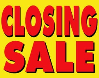 CLOSING SHOP - Get additional savings using code FINAL10