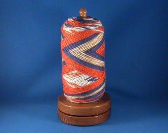 Walnut Yarn/Thread Holder - Satin Acrylic Finish