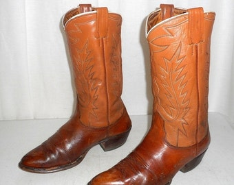 Mens Size 9.5 D Nocona Cowboy Boots Western Folk Indie Shoes Boho Womens 11