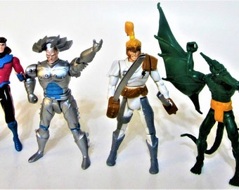 MARVEL 1992 Xmen Original Figure Figurine Collectible Rare Gambit Shatter Star Sauron Dynam Stryfe Cake Toppers Gift Idea Childhood Memory