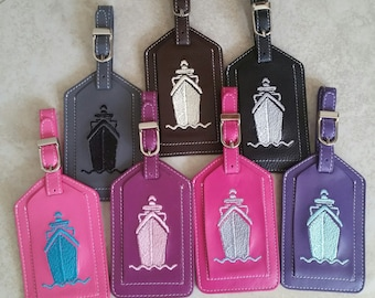 "Leslie""s Choice---Cruise Luggage Tags"