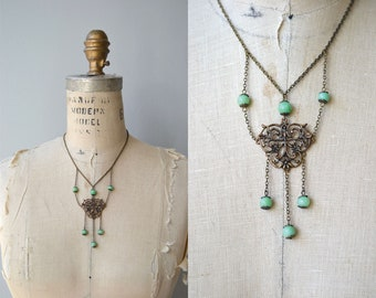 Padua festoon necklace | antique 1920s necklace | vintage 20s festoon necklace