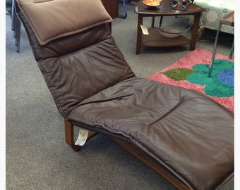 Westnofa Norway Two Position Chaise Lounge Recliner Vintage Ingmar Relling Knut Relling Design
