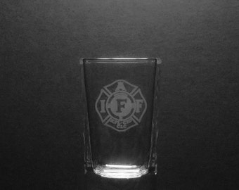 IAFF  2 Ounce Shot Glass