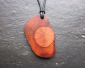 Unique Natural Wood Pendant - Root of Alder - for Faery Magic.