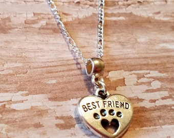 Best Friend -  Pet Lovers Necklace
