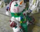 Listings for Jan paper mache snowmen