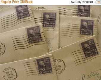 ON SALE Antique Handwritten Love Letter from a Very Loving Husband to His Sweetheart Wife  WWII