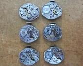 Steampunk watch parts - Vintage Antique Watch movements Steampunk - Scrapbooking X14