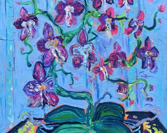 Orchids on a Table #2