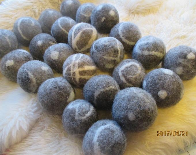 Reserved for dlambertdrake ~ Wool Felted Balls , Natural