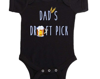 Funny Baby Boy Bodysuit  Infant Tees and Toddler Tshirts by Mumsy Goose Newborn Creepers Craft Beer Baby