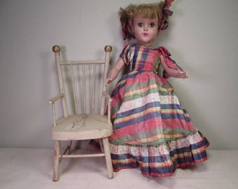 Antique Doll Furniture - Stick and Ball Chair - Larger Size