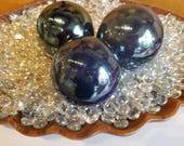 Black Metallic Pearl Floa...
