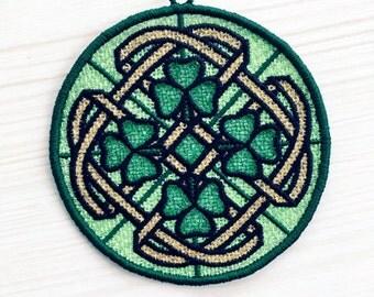 Celtic Lace Sun Catcher