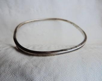 geometric bracelet modern sterling silver