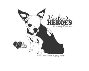 Harley's Heroes Handle mounted stamps