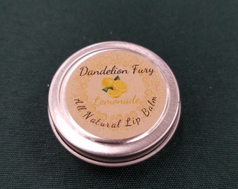 All Natural Lemonade Lip Balm Tin