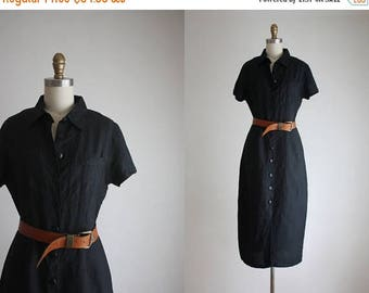 25% SALE midi shirtdress