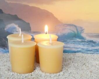 AMBER WAVES (votives or 4-oz soy jar candle)