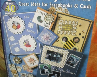 Craft Book -Memory Folds, Origami - Scrapbooks and Cards-  How Too Book - Terri Pointer