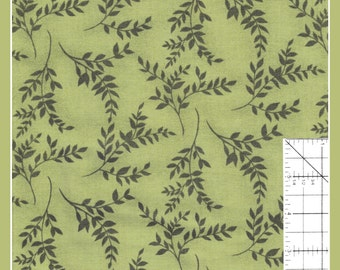 "Sage Green ""Victorian Splendor"" Fabric from Northcott -"