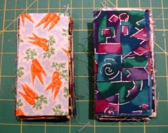 2 Inch x 4 Inch Cotton Fabric Squares