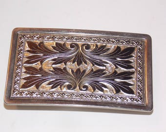 Silver Metal Belt Buckle