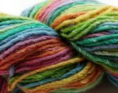 Cascade, Casablanca, Wool, Silk, Mohair, DK, Rainbow, Color 11