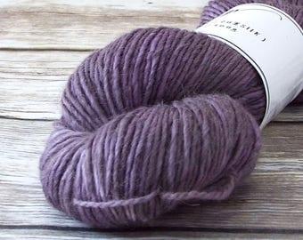 DK Yarn, Hand Dyed Alpaca/Merino/Silk Yarn, Hand Dyed Merino Yarn, Knitting Yarn, Handpainted, Double Knit Weight, Lucid