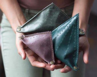 Mountain - Leather Lavender Sachet - Stress Toys - Lavender Sachet - Stress Relief Gift - Office Gift - Stress Balls - Lavender - Mountains