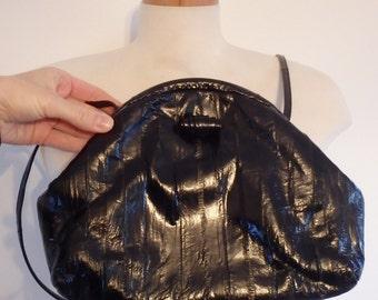 Eel Skin Purse Vintage Shoulder Bag