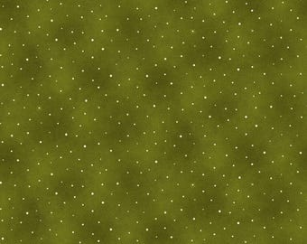 NEW Liberty Hill Quilt Fabric 100% Cotton Americana  One Yard Cut of Coordinating Green Dot