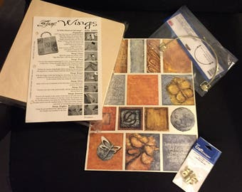 Great Cigar Box Purse Kit!  - Most Supplies & Instructions! - Free US Shipping