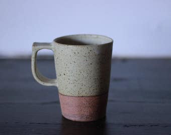 Matte Yellow Tall Mug