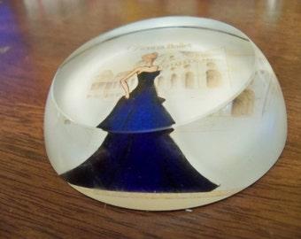 Vienna ballet paper weight souvenir