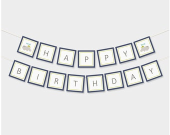 happy birthday banner // birthday banner // party banner // party package // accessories // party supplies