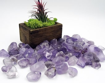 Tumbled Stones By the Ounce - AMETHYST - (Bk)