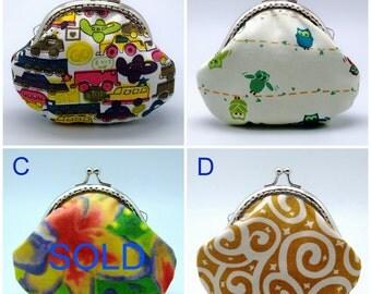 BIG SALE - Small clutch / Coin purse (GP36)