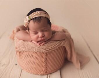 Newborn Wraps, Choose 5 -RUSTIC WRAPS , Baby Wraps Cheesecloth Wraps - Photography Prop, Newborn Photo Prop