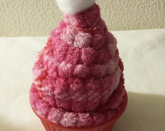 Pin cushion ice cream pincushion pink