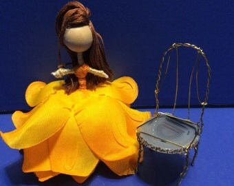 Fairy Garden Accessories, Gnome Garden Accessories, fairy furniture, miniature accessory, gnome furniture, miniature accessories, chair