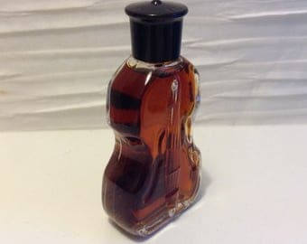 Tabu Perfume By Dana.  5 ml., .15 fl. oz. Vintage Perfume Mini. Full Violin shaped Bottle