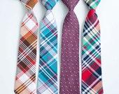 Necktie, Neckties, Boys Tie, Boys Necktie, Baby Tie, Baby Necktie, Baby Neckties, Wedding Ties, Ring Bearer, Ties - Fall/Winter Collection